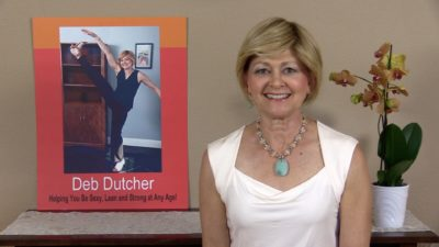 Deb Dutcher helping folks be Sexy, Lean and Strong at Any Age